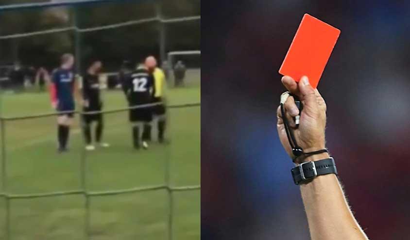 کارت قرمز و زرد در فوتبال